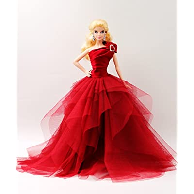 [Fit Barbie Doll] Cora Gu Handmade Miss Sally Gown/Dress/For Barbie Doll/Silkstone Girl's Present(Dolls not included)