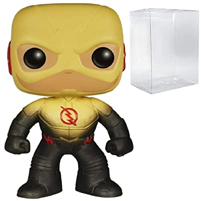 Funko Pop! Flash TV Series Reverse Flash Vinyl Figure (Includes Pop Box Protector Case): Toys & Games
