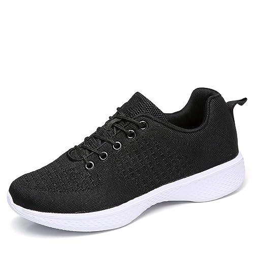 Zapatillas de Deporte de Primavera y Verano cómodas Zapatillas Deportivas para Correr al Aire Libre Transpirable Antideslizante Zapatillas súper Ligeras: ...