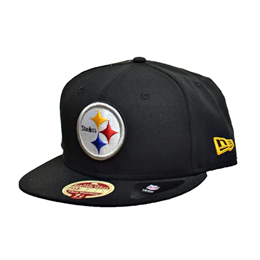 79c54344 Amazon.com : New Era Pittsburgh Steelers NFL 59Fifty Fitted Hats ...