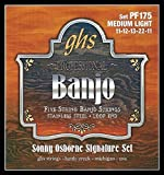 Proudly endorsed by legendary banjo player, Sonny Osborne. The GHS Sonny Osborne Signature Banjo Strings are made to the exacting specifications of Sonny Osborne. These strings are plain steel and roundwound stainless steel (4th string) and feature G...