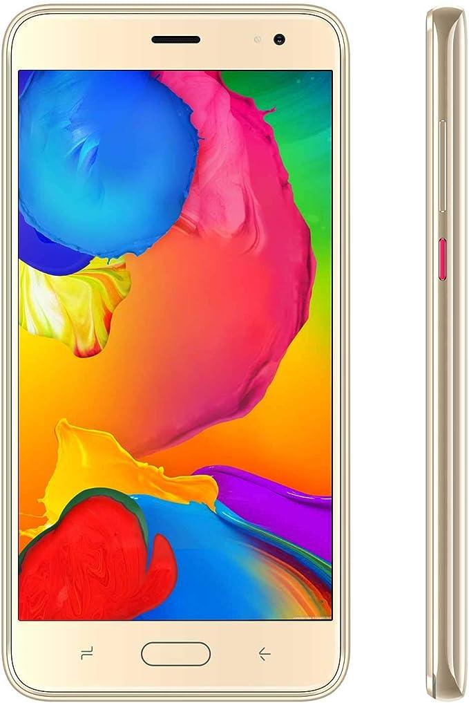 Moviles Libres 4G Android 9.0 Teléfono Móvil Libre de 5.5 Pulgadas 16GB ROM/128GB TF, 8MP Cámara Identificación de Cara Smartphone Libre Dual SIM 4G Moviles Buenos 4800mAh: Amazon.es: Electrónica