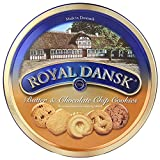 Royal Dansk 1 Butter And Chocochip Chips Cookies, 400G