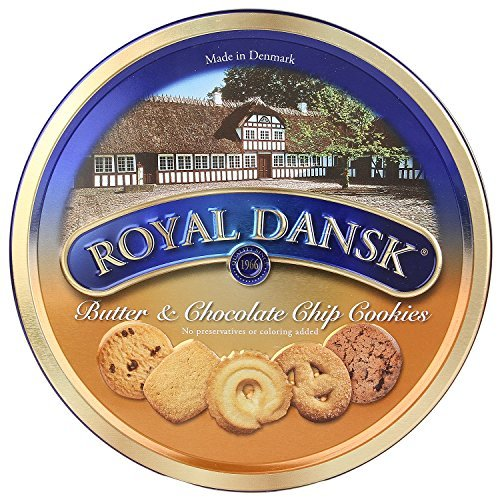 Royal Dansk 1 Butter And Chocochip Chips Cookies, 400G by Royal Dansk
