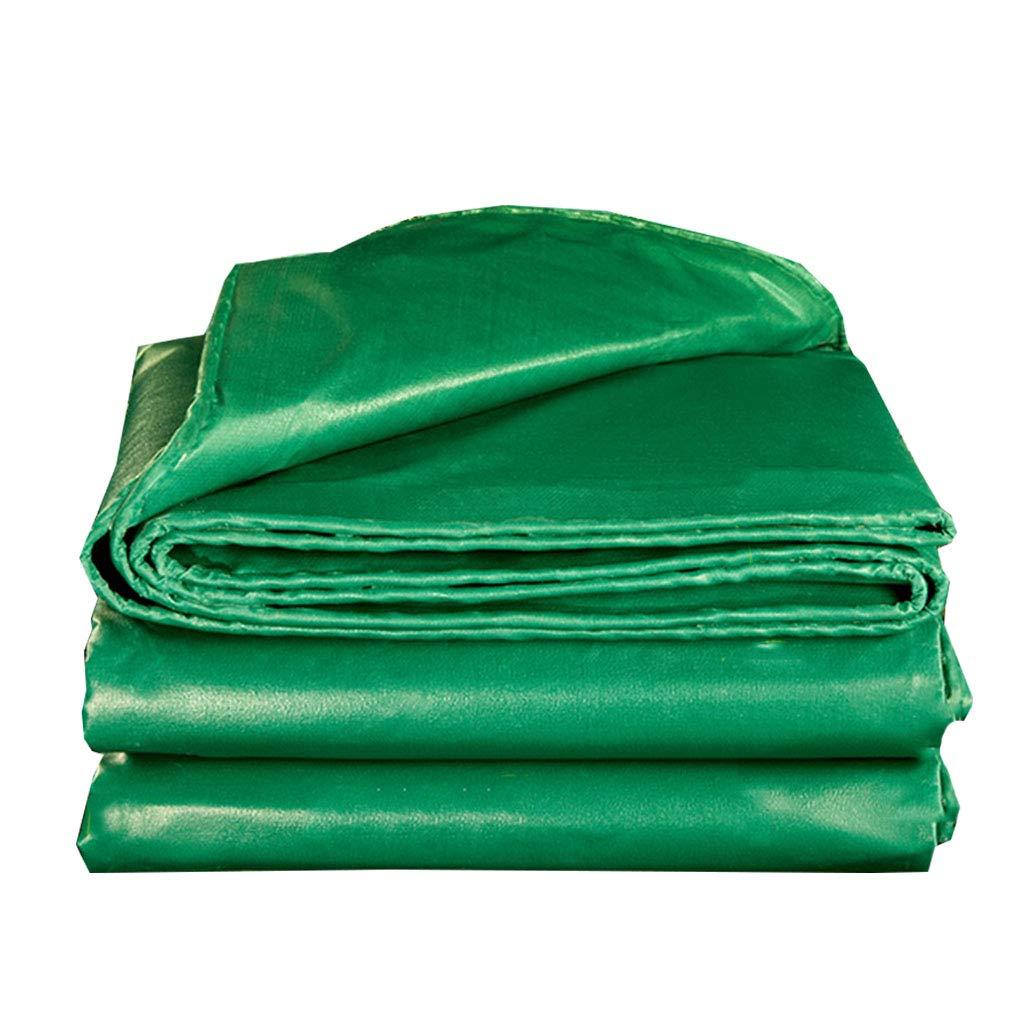 YX-Planen Wasserdichte Plane Grün Robuste Schutzplane für Blaumenbeete Blaumenbeete Blaumenbeete - 100% wasserdicht und UV-geschützt - Dicke 0,4 mm, 540 g m² B07KXNXK1M Zeltplanen Sport b16309