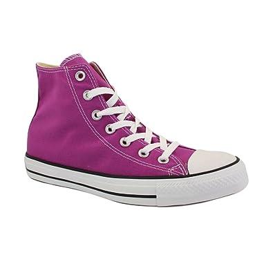 40d7ca58caae Converse Unisex Chuck Taylor Fresh Colors Hi Purple Cactus Flower - 4 Men -  6 Women