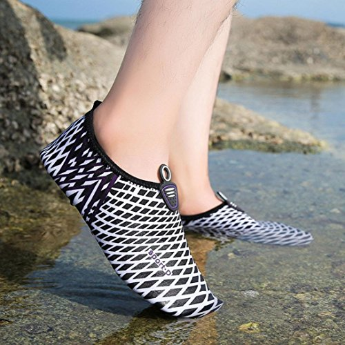 Swim Water Black G Dry Men Summer Yoga Shoes amp;Kshop Womens Sports Socks Aqua Quick Barefoot IIqwTB
