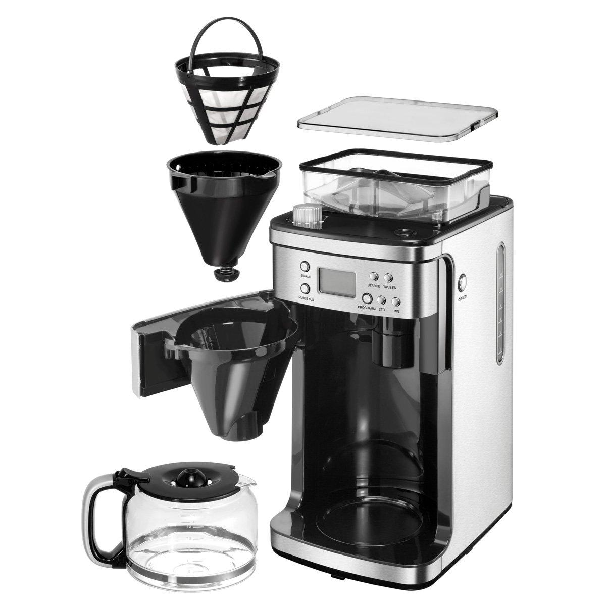 Unold 28736 - Máquina de café con molinillo, 900-1050 W: Amazon.es: Hogar