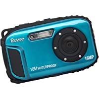 "16MP Underwater Digital Camera with Video 2.7"" LCD Screen 10M Waterproof Freezeproof"