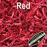 Mighty Gadget (R) 1 LB Red Crinkle Cut Paper Shred Filler