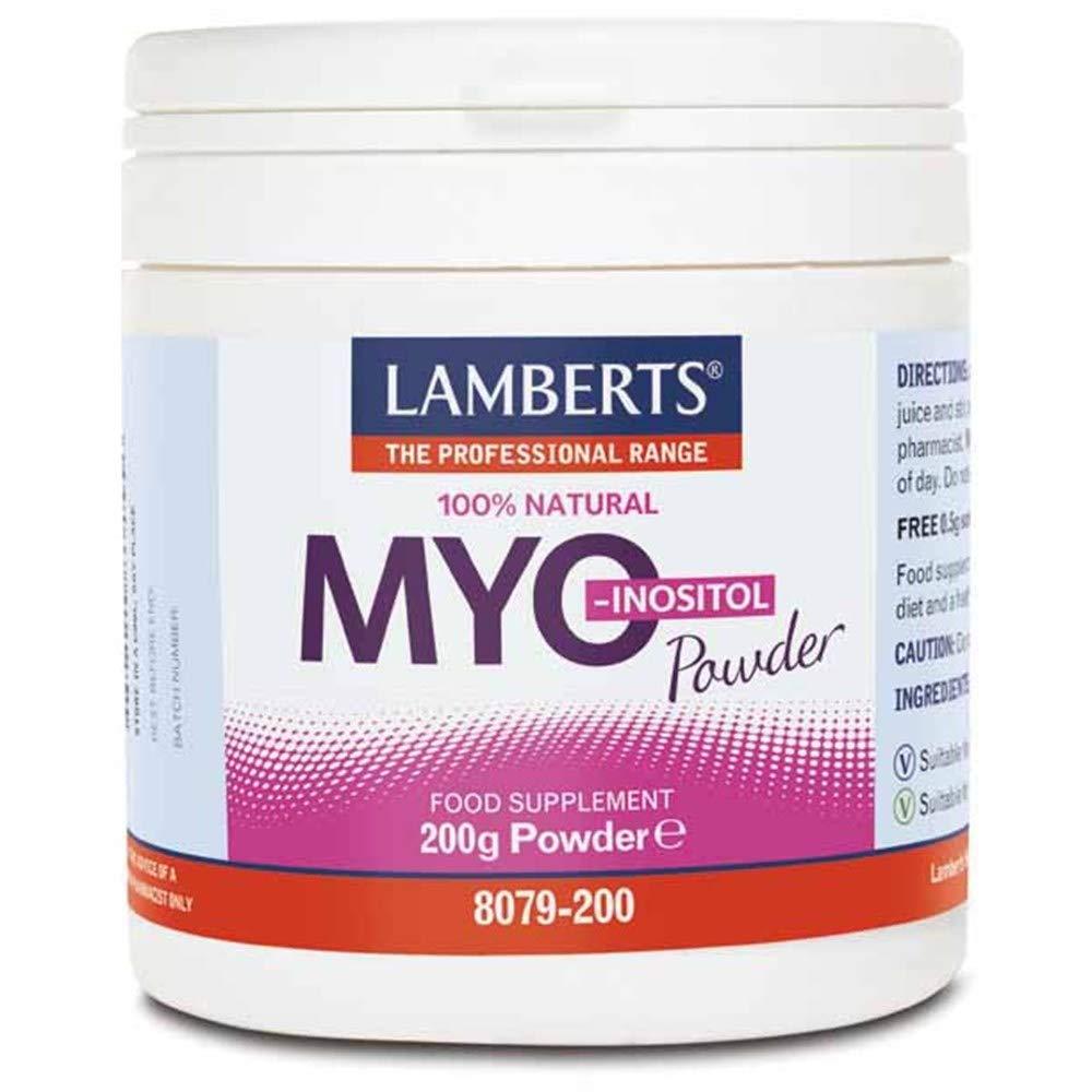Lamberts Myo-Inositol 100% Natural Powder 200g