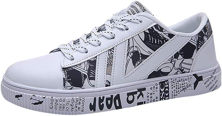 Tefamore Zapatillas de Deporte Hombre Zapatos para Correr Casual ...