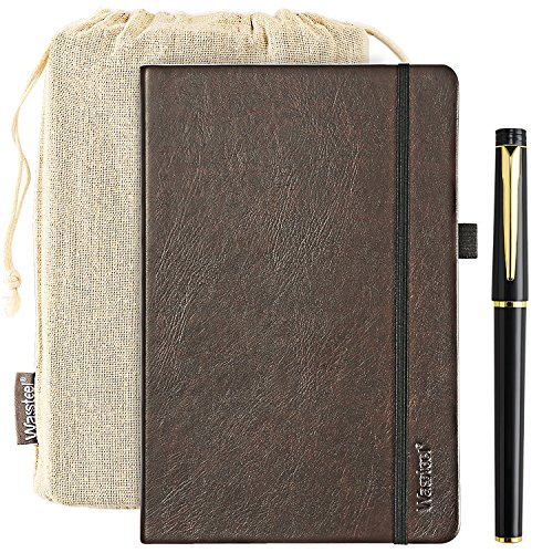 Bullet Journal A5 Notebook Paper Student Diary Book 120gsm Hardcover Notebook College Ruled Notebook Gift Pen Pocket Note Paper - Student Writing Journal