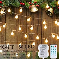 Rilitor LED Holiday Fairy String Lights