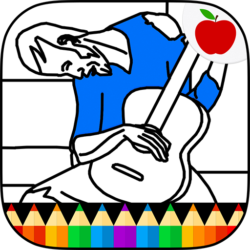 Amazon.com: Picasso Coloring for Adults - Coloring Book for Adults ...