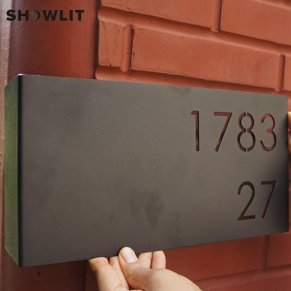 Amazon.com: Showlit - Cartel para puerta de casa, diseño con ...