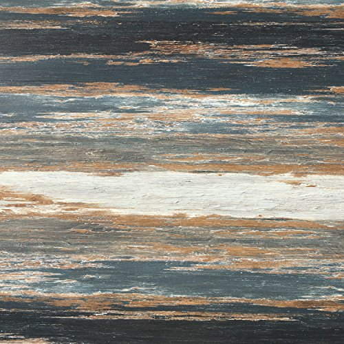 Take Home Sample COLORS Vintage Flooring Painted Aged Old Black Smoke 6 in. x 6 in. Glue Down Luxury Vinyl - Flooring Vinyl Smoke