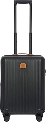 Bric s Capri 21 Inch Ultralight International Carry-on Spinner, Matte Black