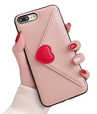 1b65b2bcf2fe UnnFiko Leather Wallet Case Compatible with iPhone X/iPhone Xs, Luxury  Purse Flip Card Pouch Stand Holder Cover Case (Pink, iPhone X/Xs)