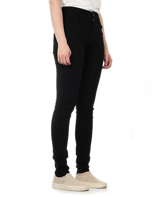 1607296dd Levis Pants – 721 High Rise Skinny Black Sheep black size  25W 30L