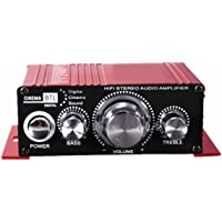 Amplificador de audio - SODIAL(R)12V Mini Hi-Fi Amplificador