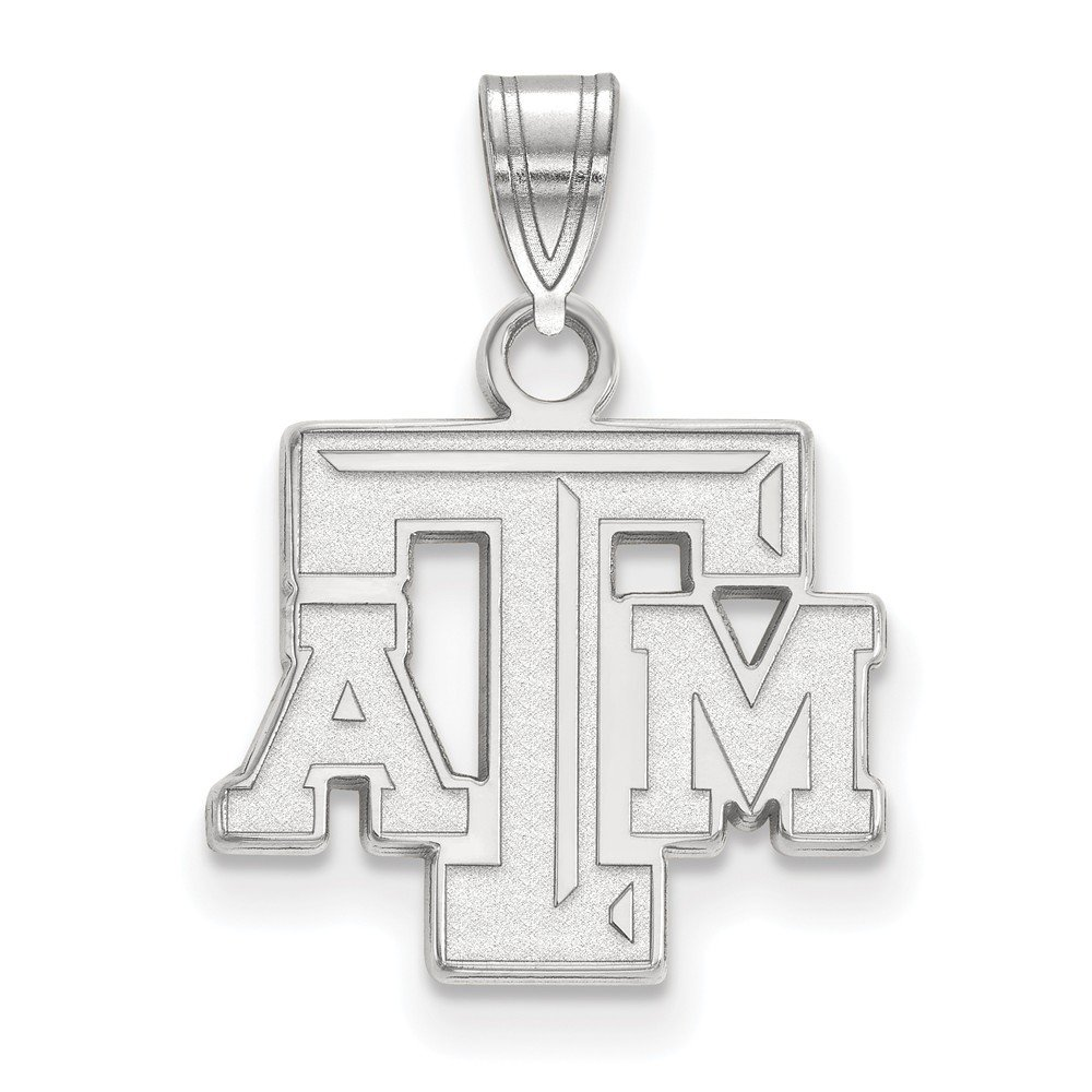 White Sterling Silver Charm Pendant Georgia NCAA Institute Of Technology 36 mm 18