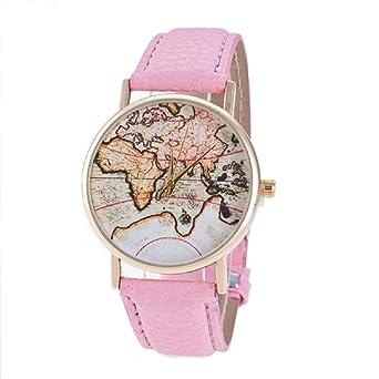 Cmj pink vintage world map atlas womens girls watch uk seller cmj pink vintage world map atlas womens girls watch uk seller gumiabroncs Choice Image