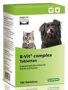 B de Vit Complex 100 pastillas para perros y gatos: Amazon.es: Productos para mascotas