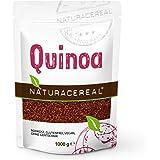 NATURACEREAL Quinoa, rot, 1000 g (1x1kg) - Glutenfrei und eiweißreich