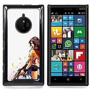 SKCASE Center / Funda Carcasa protectora - Desperado Sexy;;;;;;;; - Nokia Lumia 830