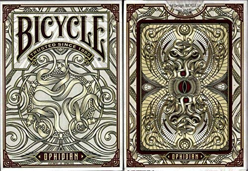 - Ophidian Bicycle Playing Cards Poker Size Deck USPCC Custom Limited Edition