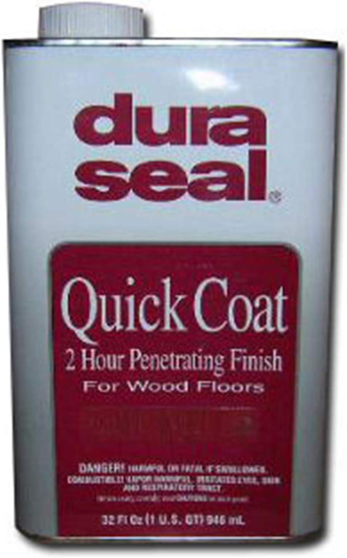Dura Seal Quick Coat - Tinte para suelos de madera, acabado penetrante, 2 horas