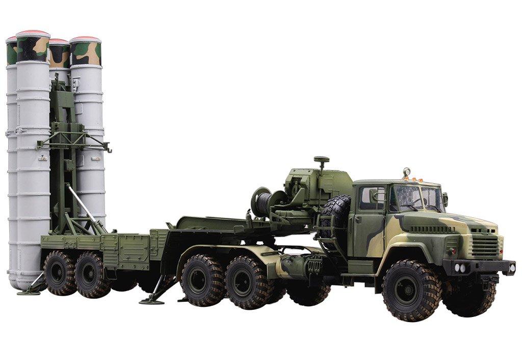 ホビーボス 1/35 ファイティングヴィークルシリーズ ロシア軍 KrAZ-260Bトラクターw.5P85TE TEL S-300PMUミサイル プラモデル 85511 B0759JMSYX