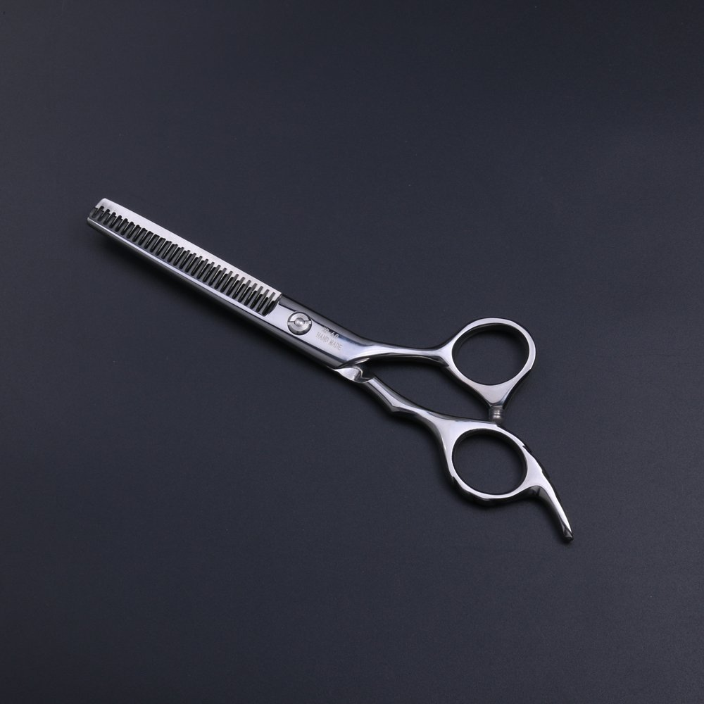 Purple Dragon Professional 6.0 inch Double teeth Barber Hair Thinning Scissor/Shear Set- Perfect for Hair Stylist or Home Use by Purple Dragon (Image #5)
