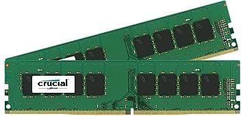 Crucial - Memoria RAM de 8 GB (4 GB x 2, DDR4, 2133 MHz)