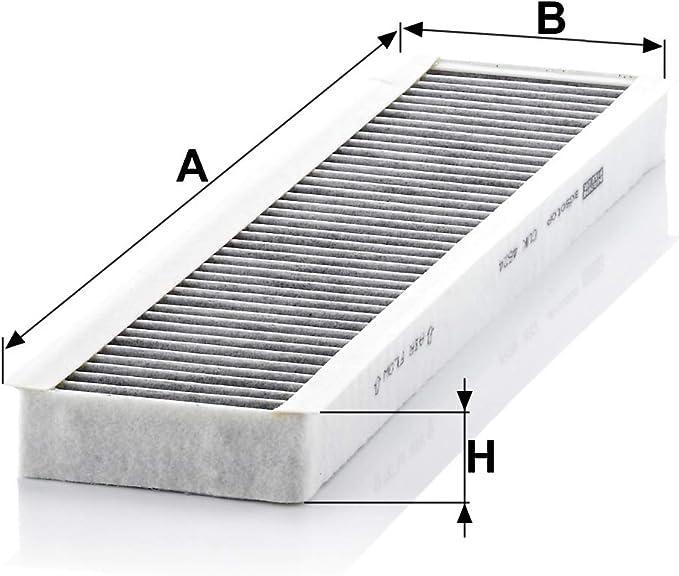 Original Mann Filter Innenraumfilter Cuk 4624 Pollenfilter Mit Aktivkohle Für Pkw Auto