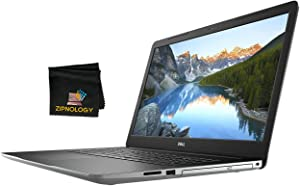 Dell Inspiron 17 3793 - 17inch Laptop Non Touch Display - Intel Core i7-1065G7 - 256GB SSD + 1TB HDD - 16GB DDR4 - Iris Plus Graphics - Windows 10 Home + Zipnology Screen Cleaning Cloth Bundle - New