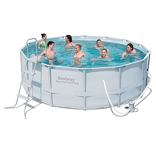 8 opinioni per Bestway 56263 above ground pool- above ground pools