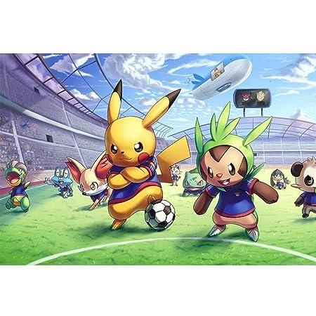 LXCS Rompecabezas de Madera, Historieta del Animado Pokémon ...