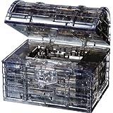 Original 3D Crystal Puzzle - Treasure Chest Black
