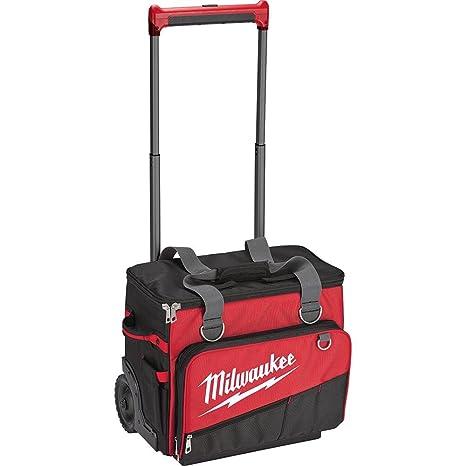 Amazon.com: MILWAUKEE, 48-22-8221, bolsa enrollable de obra ...