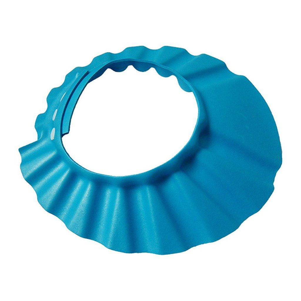 UNKE Baby Infant Safe Shampoo Shower Bathing Protect Soft Cap Hat For Kids