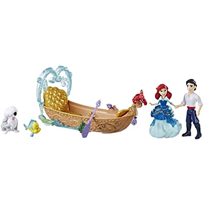 Disney Princess Evening Boat Ride, Ariel & Prince Eric Dolls: Toys & Games [5Bkhe0301326]