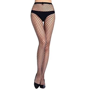 f2e27551bb Ronamick Lady Sexy Fishnet Open Soft Tights Lingerie Transparent Erotic  Lace Bodysuit Crotchless Wild Temptation Fishnet Bodystocking Bodysuit (A