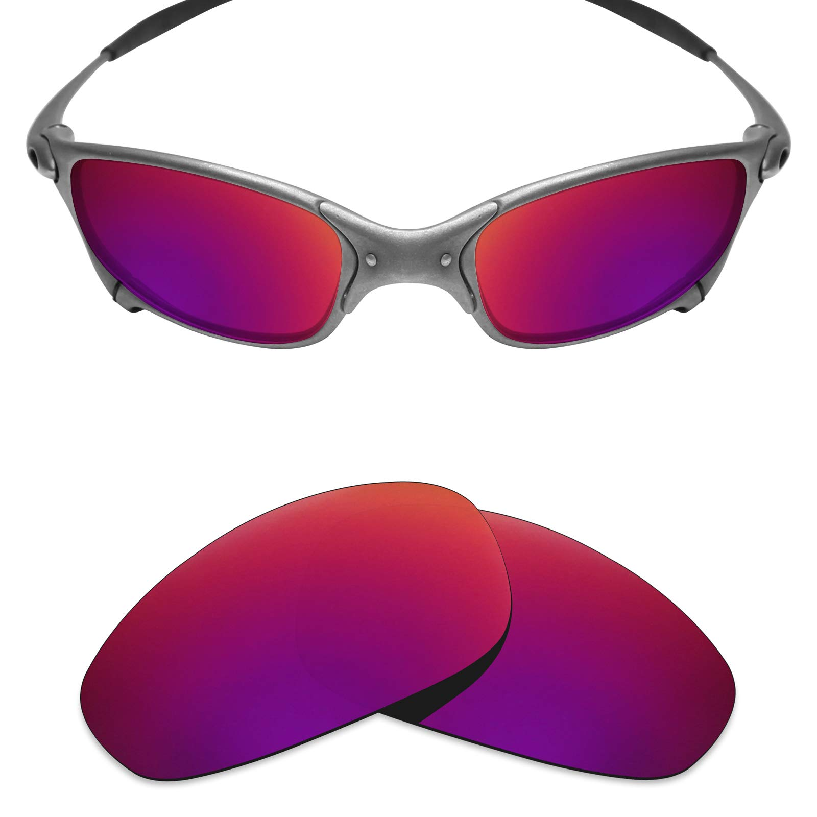 544ec5d42 Galleon - Mryok Polarized Replacement Lenses For Oakley Juliet - Midnight  Sun