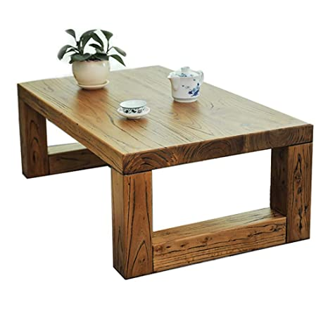 Amazon.com: Solid Wood Coffee Table Japanese Tea Table ...