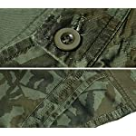Panegy Adultes Combat Shorts pour Homme/Garçon Coton Bermudas Treillis Militaire Cargo Armée Pantalon de Travail… 10