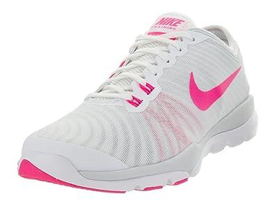 e360a10a41757 Nike Women s Flex Supreme Tr 4 White Hypr Pnk Pr Pltnm Wlf Gr