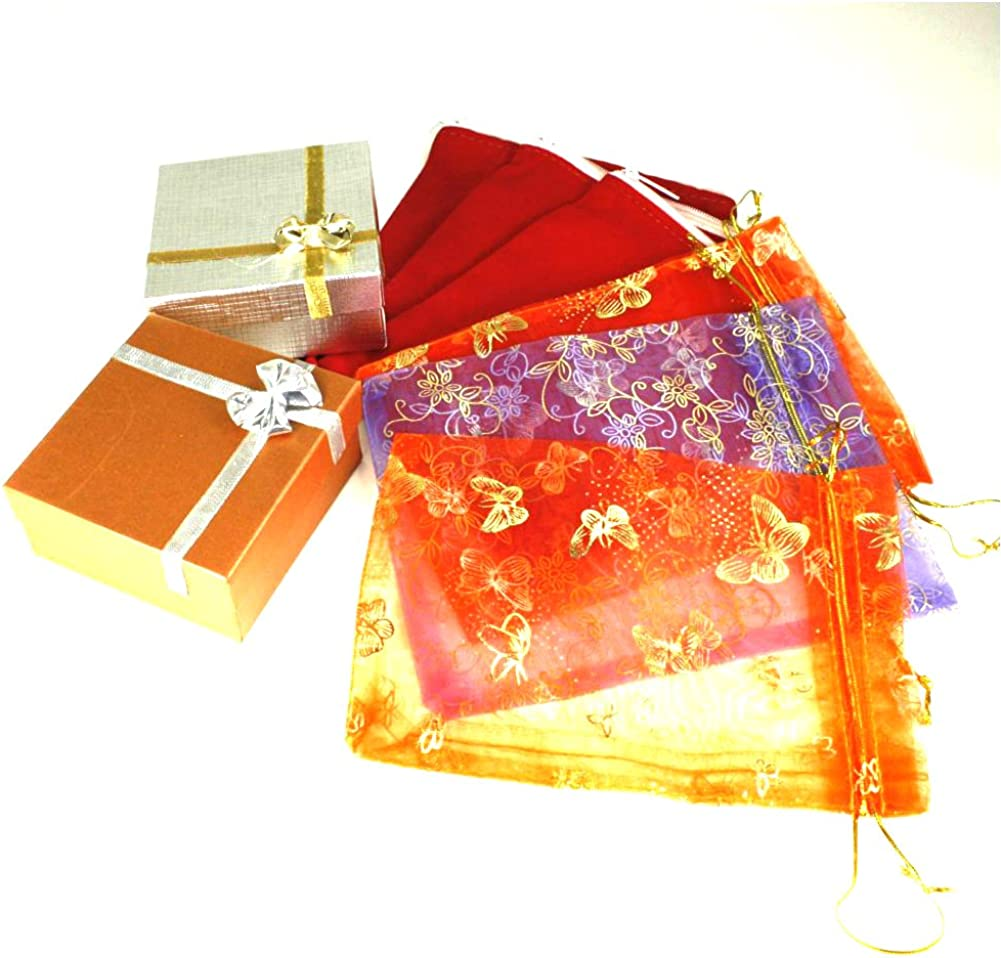 Duel On Jewel Indian Pakistani Bridal Gold Plated Openable Bangle Set in Kundan Polki CZ US Size Medium India 2-6 Inner Diameter 2.37 Inches