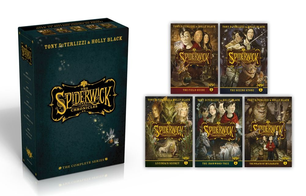 The Spiderwick Chronicles: The Complete Series by Simon Schuster Books for Young Readers (Image #2)
